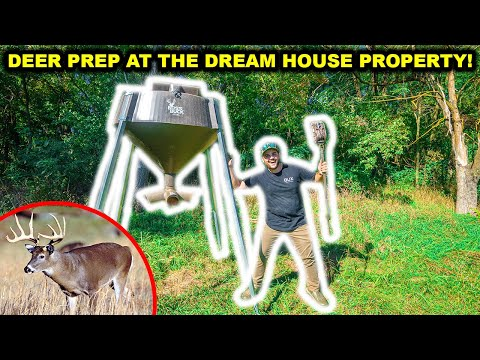 DEER HUNTING Prep at the DREAM HOUSE PROPERTY!! (Full Property UPDATE)