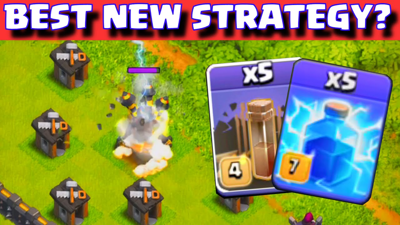 Clash of Clans BEST ATTACK STRATEGY AFTER NEW UPDATE? | MAXED LEVEL 7 ...