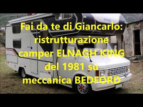 Ristrutturazione E Rifacimento Camper Fai Da Te Elnagh King Del 1981