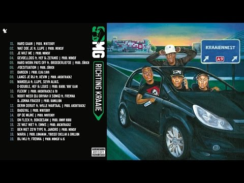 SBMG  Richting Kraaie albumsampler  release op 11 maart