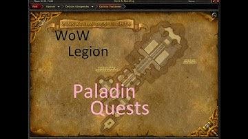 iZocke WoW: Legion Klassenquests Paladin #090 - Eins nach dem anderen