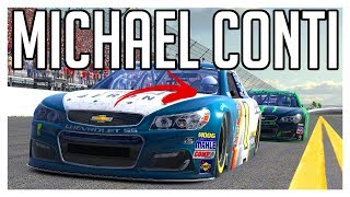 iRacing | NASCAR iRacing Class A | Daytona Speedway | Monster Energy Series | Michael Conti