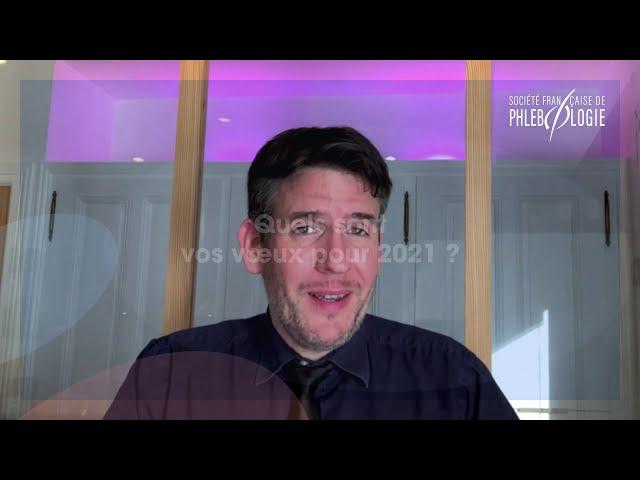 Interview de Matthieu Josnin, président de la Société Française de Phlébologie.