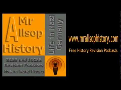 Life in Nazi Germany audio revision for GCSE and IGCSE History