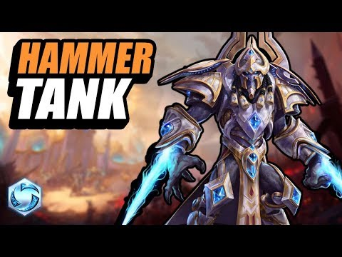 Artanis - hammer is the tank // Road to Grandmaster // Heroes of the Storm