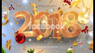 Best Happy New Year 2018 wishes images wallpaper animation
