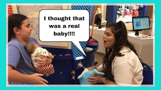 Reborn Baby Goes Shopping at the Mall | TONS of Reactions! Nlovewithreborns2011