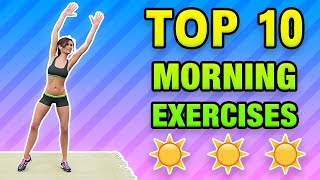 Top 10 Morning Exercises To Do At Home