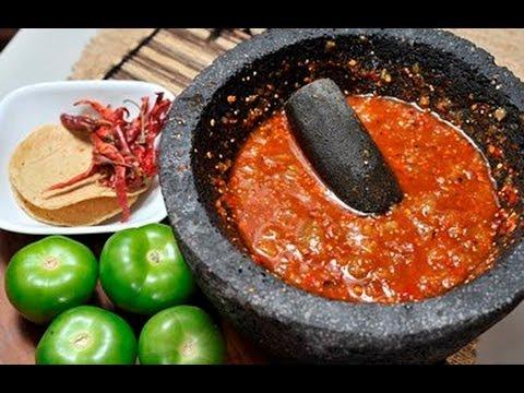 Salsa De Tomate Con Chile De Arbol Tomato And Chile Salsa Youtube