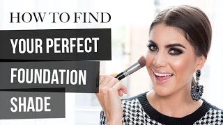How to Find Your Perfect Foundation Shade Thumbnail