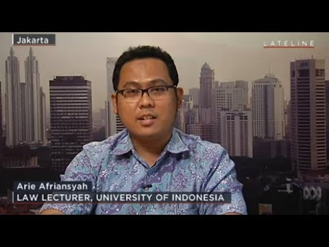 Arie Afriansyah, Ph.D - Lateline Interview