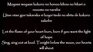 Naruto Shippuden Ending 29 - Flame - Dish Lyrics + English Translation