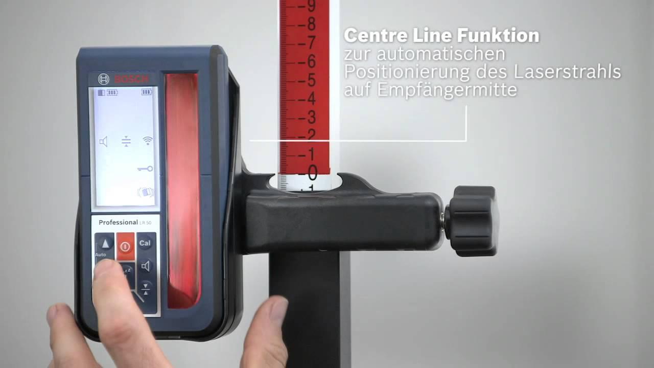 Bosch Rotationslaser GRL 500 H/HV + LR 50 Professional