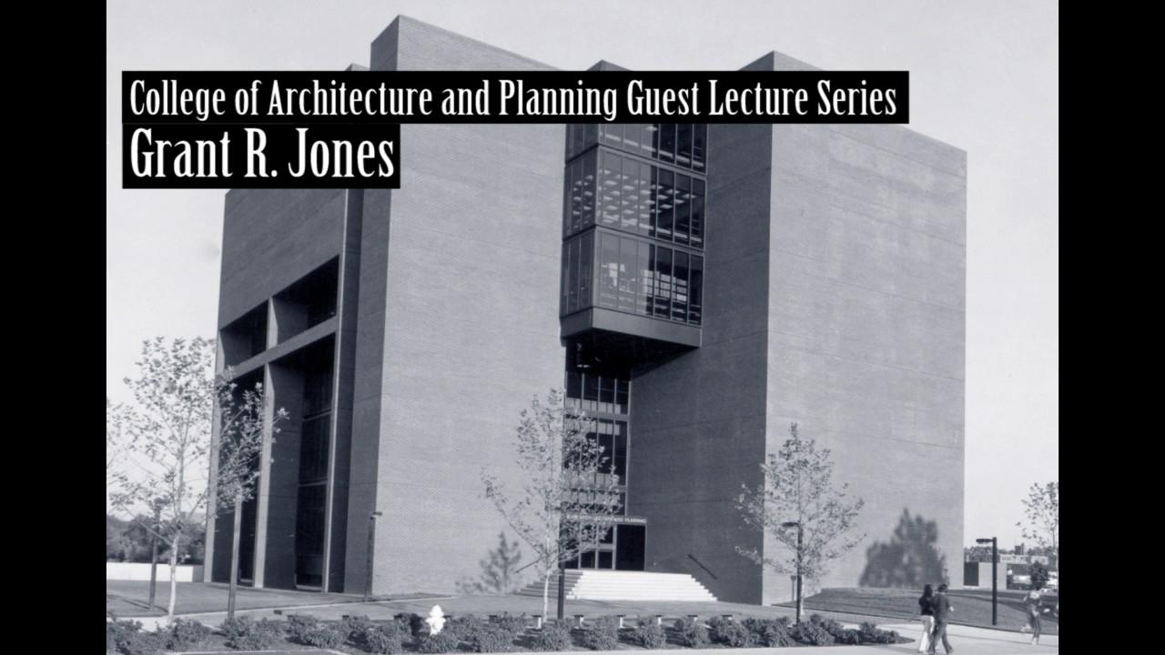 Grant Jones Jones Jones Landscape Architecture Recent Projects 1985 04 22 Youtube
