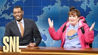 Weekend Update: Travel Expert Carrie Krum on Winter Getaways - SNL