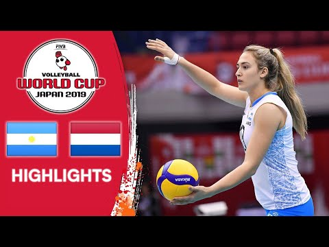 ARGENTINA Vs. NETHERLANDS - Highlights   Women's Volleyball World Cup 2019