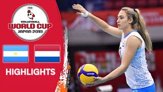 ARGENTINA vs. NETHERLANDS - Highlights | Women's Volleyball World Cup 2019