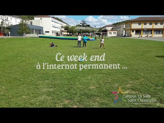Un week end à l'internat permanent - septembre 2017