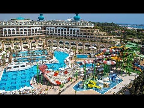 Crystal Sunset Luxury Resort Spa Side Turkey