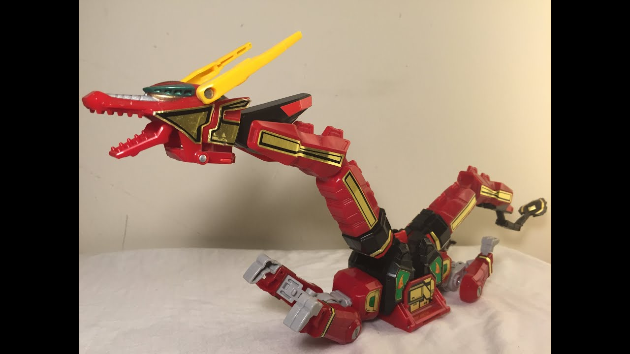 Image result for red dragon thunderzord