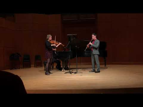 Eight Pieces For Clarinet, Viola And Piano, Op. 83, No. 6 Nachtgesang - Max Bruch
