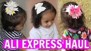 Kids Accessories Haul - Hair Clips, Bands & lot more... | ShrutiArjunAnand