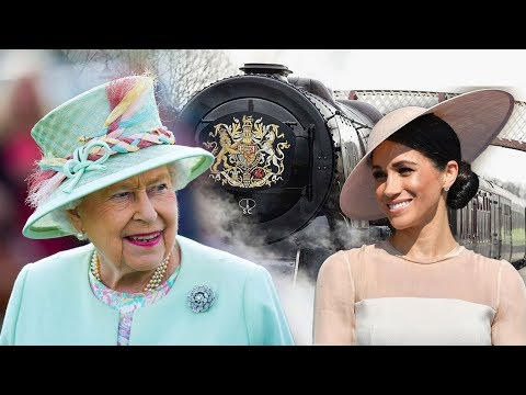 The Queen invites Meghan onto her official train - where Harry & Kate still aren't allowed