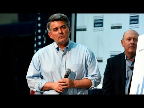 Senator Cory Gardner town hall at Colorado Christian University