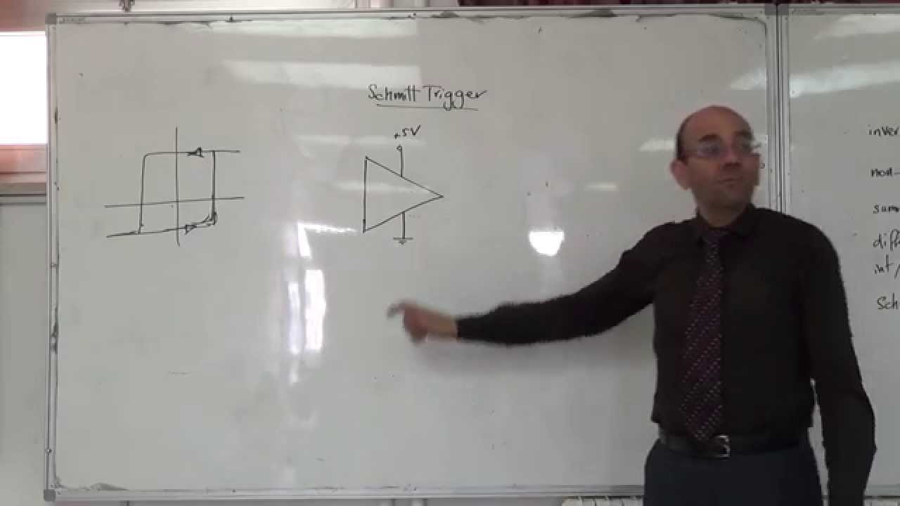 Op Amps Schmitt Trigger Circuit With A Single Supply 30 9 2014 Asymmetrical Inverting Electronics Tutorial