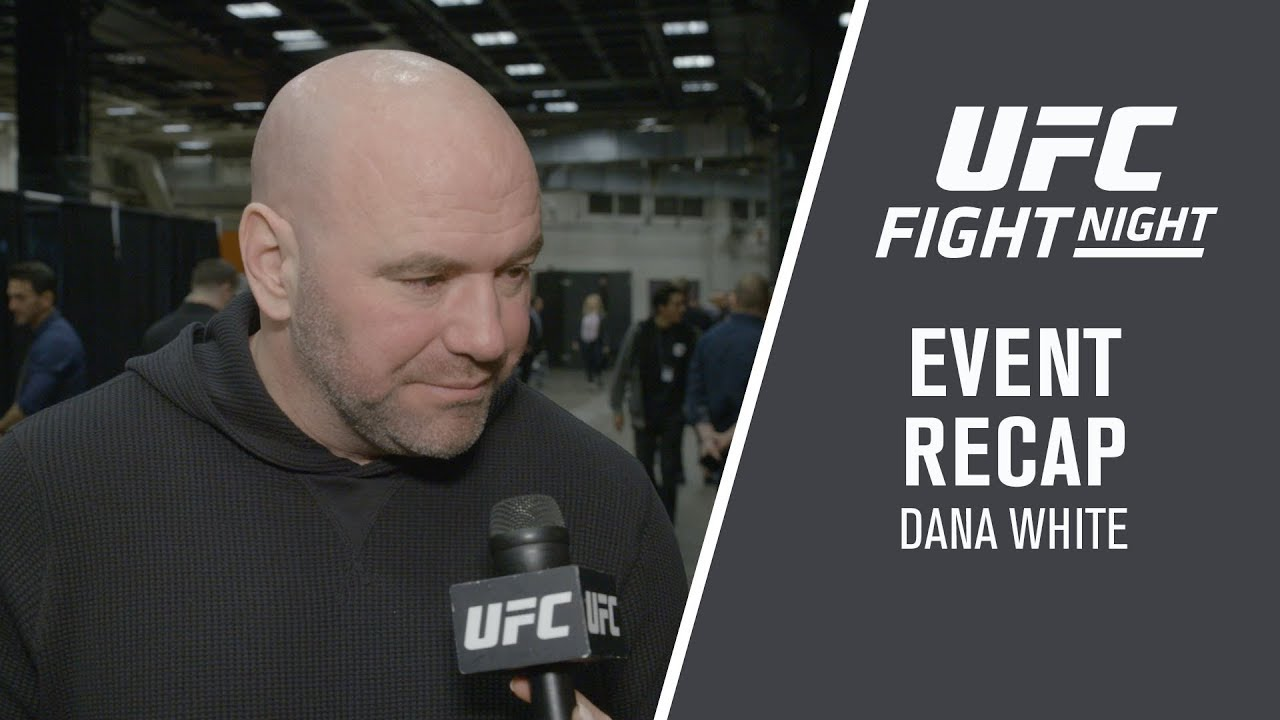 UFC Phoenix: Dana White Event Recap