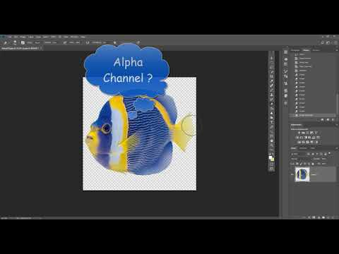 Photoshop/After Effects Basics: Creating Transparency (deleting Vs Alpha Channel)