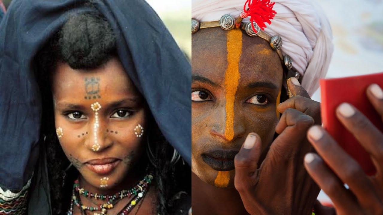 Download Les femmes wodaabe ont droit de se laisser voler par les hommes   les hommes se maquillent