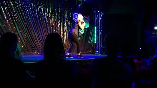 Jacqueline Mifsud at the Festival Club 2018 Melbourne International Comedy Festival