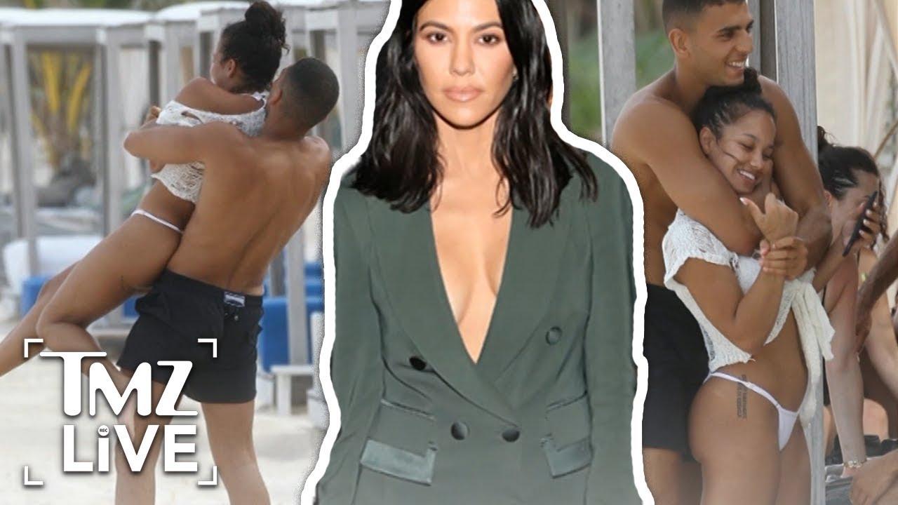 Kourtney Kardashian Breaks Up With Boyfriend | TMZ Live