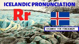 Icelandic Pronunciation: R