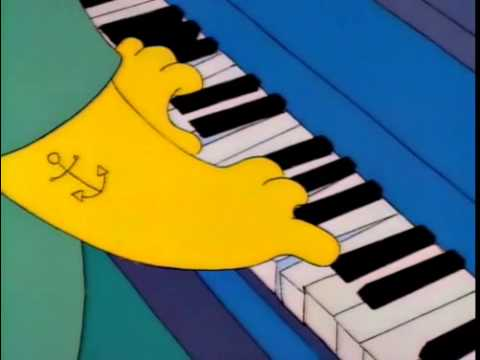 the simpsons family bart simpson birthday song, for lisa!