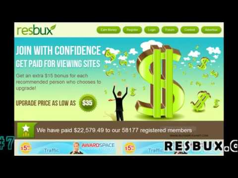 Best Top 10 Trusted Pay to Click PTC Sites