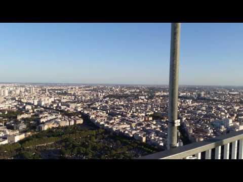 Paris Montparnasse tower view
