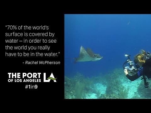 #1in9: Rachel McPherson with the Port of Los Angeles Environmental Management Division