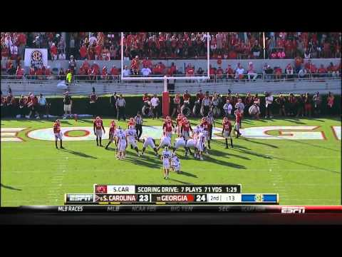 Georgia  Vs South Carolina FULL GAME HD 2013