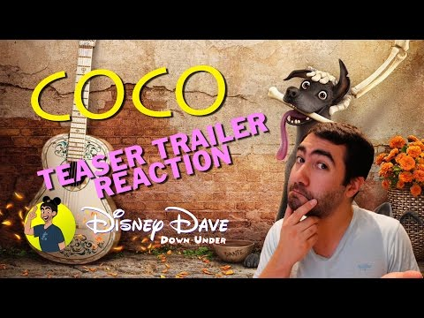 Thumbnail: COCO - TEASER TRAILER #1 REACTION