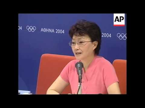 Briefing by Chinese Olympics team