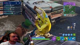 CHECK OUT THE FINAL STAGE OF THE BANANA SKIN IN FORTNITE