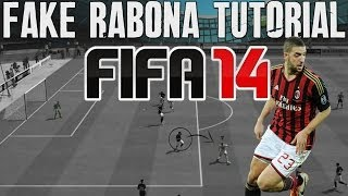 FIFA 14 Tutorials & Tips | How to Fake Rabona (Combos) | Best FIFA Guide (FUT & H2H) - Skill Moves