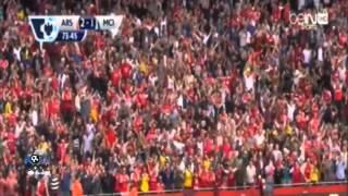 أهداف مباراة آرسنال 2 2 مانشستر سيتي 13 9 2014 عصام الشوالي HD
