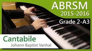 [青苗琴行] ABRSM Piano 2015-2016 Grade 2 A3 Cantabile, First Movement from Sonatina No.4 in G