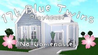 ROBLOX| Bloxburg: No Gamepasses Blue Twins Playhouse| 17k| StrxwberryTxa