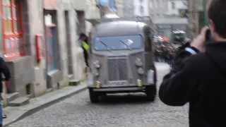 Montée de la rue Fardel (St Brieuc) - Course de lenteur (2014) - Citroën Type H