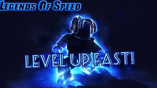 ROBLOX - Legends Of Speed How to Level Up Fast Step by Step Gameplay Tutorial