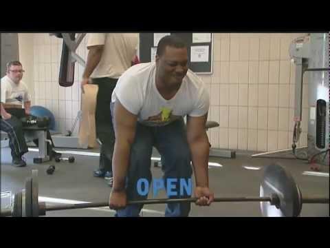 Chicago Park District Feb. 2012: Special Recreation Weightlifting & Gymnastics